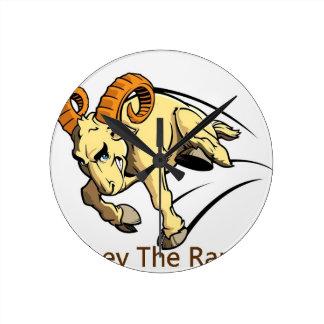 Horloge Ronde Obéissez la RAM
