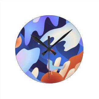 Horloge Ronde Oiseau libre de chanson