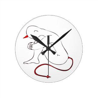 Horloge Ronde Petit diable