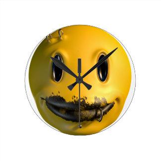 Horloge Ronde phénomène de sourire