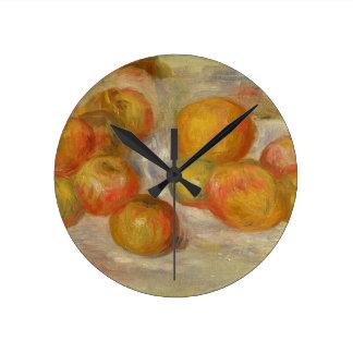 Horloge Ronde Pierre par vie de Renoir | toujours avec des