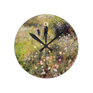 Horloge Ronde Pierre un paysage d'été de Renoir |