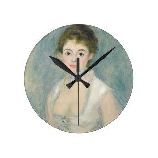 Horloge Ronde Pierre une Madame Henriot de Renoir |