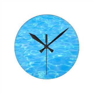 Horloge Ronde Piscine