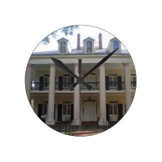Horloge Ronde Plantation d'allée de chêne