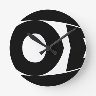 Horloge Ronde Poissons de Dieu