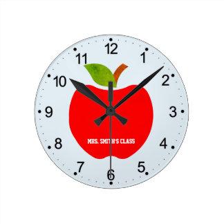 Horloge Ronde Pommes