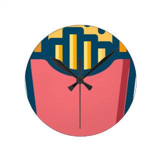 Horloge Ronde Pommes frites