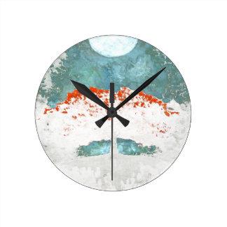 Horloge Ronde Pour jamais