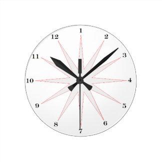 Horloge Ronde Pour l'oiseau tôt