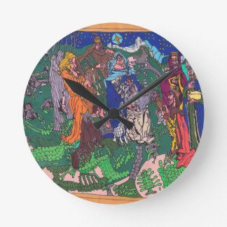 Horloge Ronde Premier Noël
