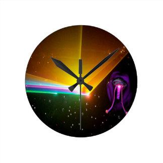 Horloge Ronde probe_ de l'espace
