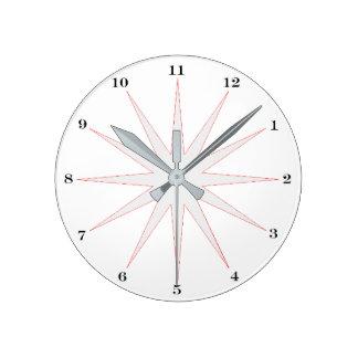 Horloge Ronde Quand l'avez-vous dit étiez-vous ?