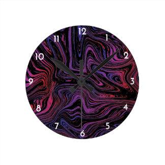 Horloge Ronde Remous psychédélique