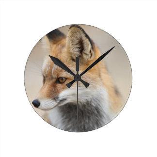Horloge Ronde renard