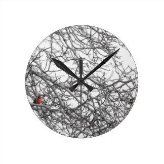 Horloge Ronde Repérez le cardinal