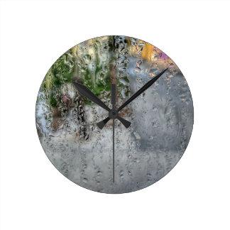 Horloge Ronde rosée de matin