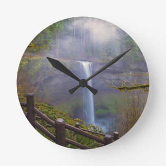 Horloge Ronde Sentiers de randonnée au parc d'état argenté