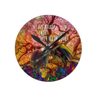 Horloge Ronde Si vous n'étiez jamais amoureux puis….