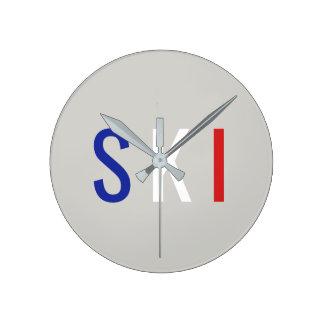 Horloge Ronde Ski