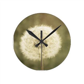 Horloge Ronde souhait de la fleur aged5