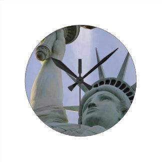 Horloge Ronde Statue de la liberté des Etats-Unis de liberté de