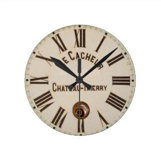 Horloge Ronde Style capturé âgé par classique de LE CACHEUR |