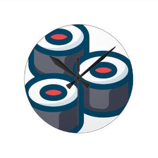 Horloge Ronde Sushi