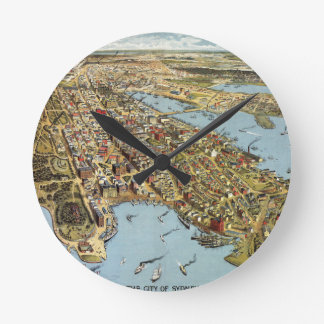 Horloge Ronde Sydney 1888