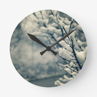 Horloge Ronde Tapis de souris d'arbre de Milou