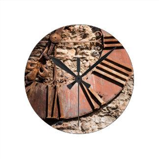 Horloge Ronde Temps usé