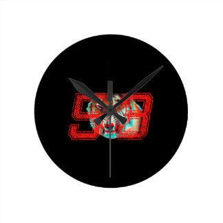 Horloge Ronde Tigre 3D