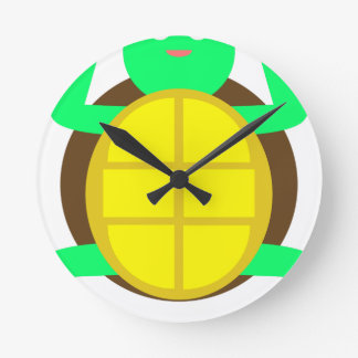 Horloge Ronde Tortue superbe