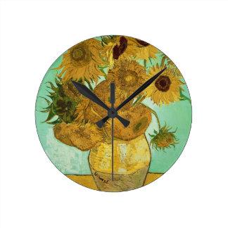 Horloge Ronde Tournesols de Vincent van Gogh |, 1888