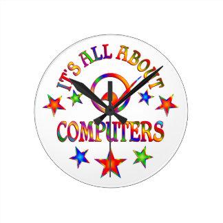 Horloge Ronde Tout au sujet des ordinateurs