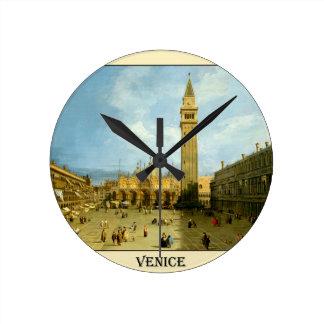 Horloge Ronde Venise 1720