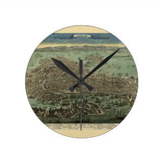 Horloge Ronde Venise Italie 1798