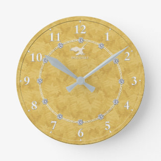 Horloge Ronde Vente décorée moderne d'horloge murale du diamant