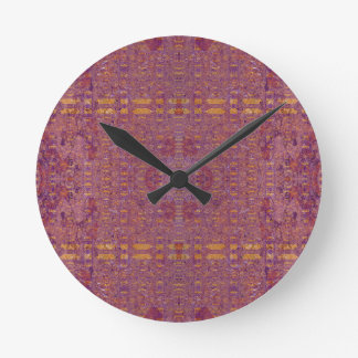 Horloge Ronde violet
