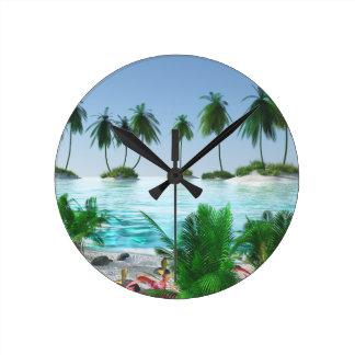 Horloge Ronde Voyage d'île en île