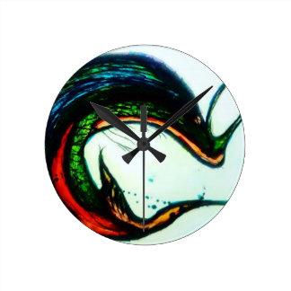 Horloge Ronde Xqzra Astrobiological Rebreather symbiotique
