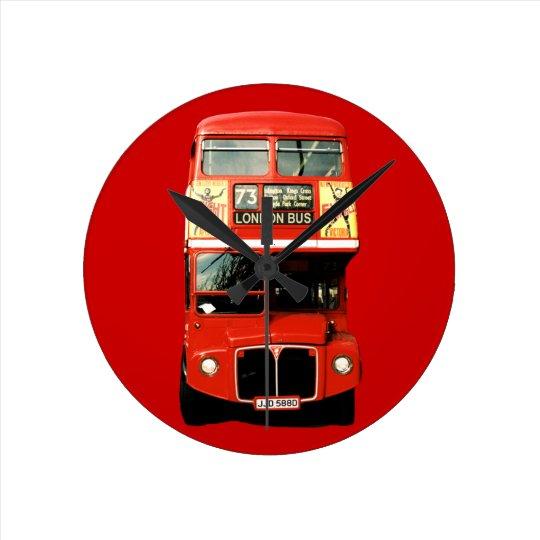 Horloge rouge lumineuse d 39 autobus de londres for Horloge lumineuse