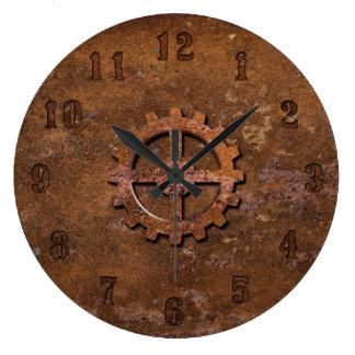 Horloge rouillée de Steampunk