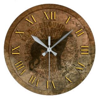 Horloge scottish deerhound