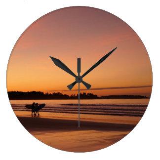 Horloge surfante de plage de Higgins