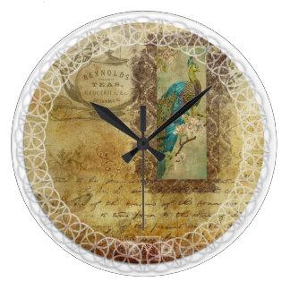 horloge victorienne de Thé-temps