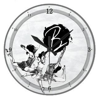 Horloges de danse de ballet de ballerine