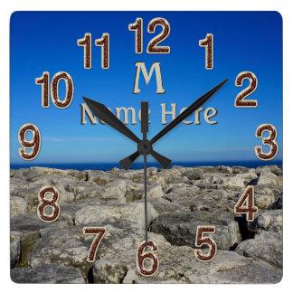 Horloges de décor de mur personnalisées par