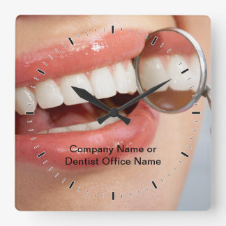 Horloges de logo de Dental Office Company