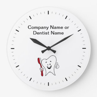 Horloges de logo de Dentist Office Company
